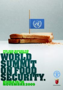 World Summit on food security